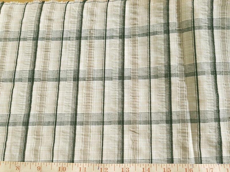 madras plaid, seersucker plaid fabric, madras fabric