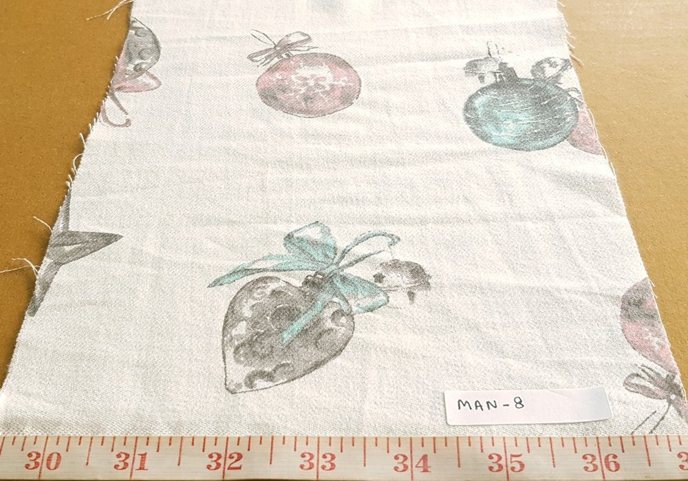 Christmas Print Fabric made of cotton
