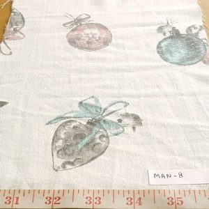 Christmas Print Fabric made of cotton