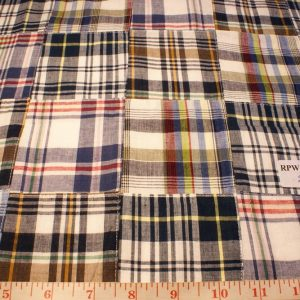 Patchwork Madras Fabric
