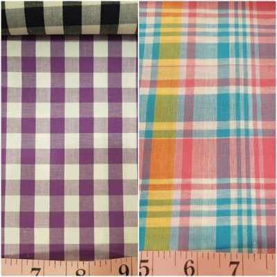 Check vs. Plaid Fabric