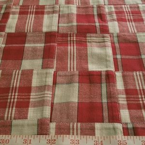 Patchwork Plaid Fabric for sewing preppy clothing, preppy craft projects, preppy accessories, handmade clothing, madras bedding or children's decor.