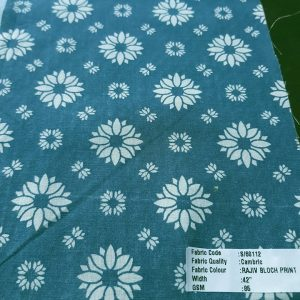 Vegetable Natural Dyed Organic Cotton Printed Fabric for eco clothing like organic cotton dresses, skirts, tops, children's clothing, table cloths & napkins