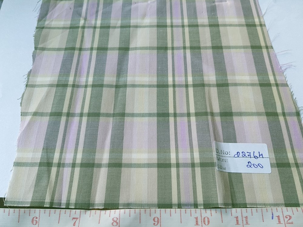 Plaid Fabric made is made mostly of cotton woven in a plaid pattern, and used for plaid shirts, plaid jackets, ties, bowties & pet clothing.Also known as madras plaid.