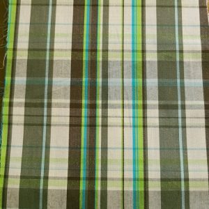 Madras fabric - cotton plaid madras fabric for girl's clothing, smocked clothing, monogramed apparel tote bags & Etsy crafts.