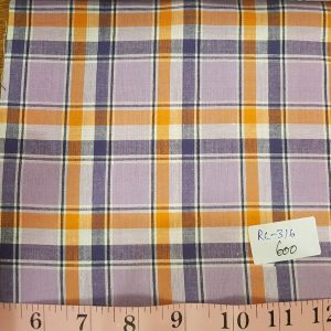 Madras Plaid Fabric made of cotton yarns woven in a plaid patter, for men's jackets, ties, bowties, shirts and pet clothing. Also known as check fabrics.