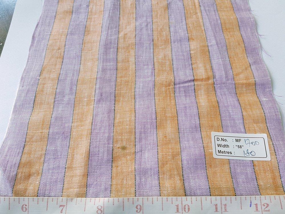 Linen Fabric - linen stripes, linen plaid or checks, linen solids, for menswear, children's clothing and linen dresses.
