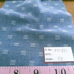 CHAMBRAY Fabric - solids - stripes - self designs