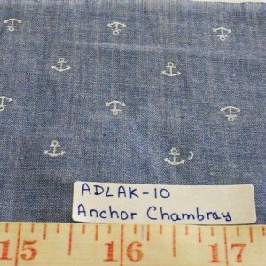 Cotton Chambray Fabric for summer chambray shirts, preppy menswear, boys chambray clothing, chambray ties and chambray skirts and dresses.