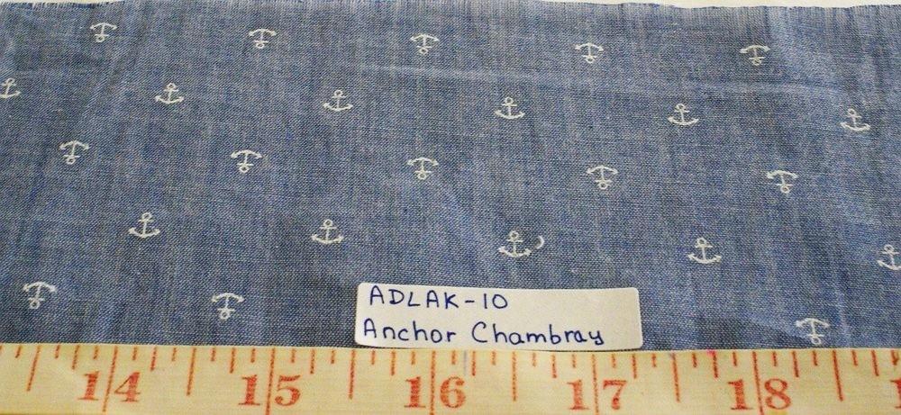 Cotton Chambray Fabric for summer chambray shirts, preppy menswear, boys chambray clothing, chambray ties and chambray skirts and dresses.
