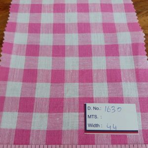Gingham Fabric or gingham check fabric is a cot