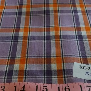 Plaid Fabric - Fabric made of cotton, woven in a plain weave for preppy clothing, preppy sewing and crafts and perfect for handmade things.
