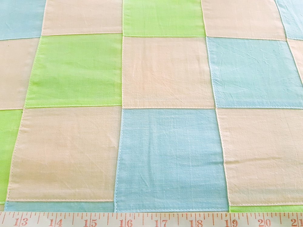 Patchwork Fabric in preppy colors for vintage clothing, like men's shirts, madras sport coats, jackets, classic clothing and vintage apparel.