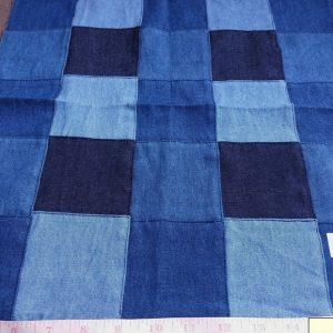 Denim Patchwork - Denim Fabric