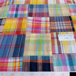 Patchwork Madras & Patchwork Print Fabrics