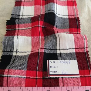 Twill Madras / Flannel Madras / Twill Plaid