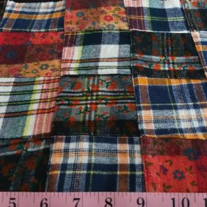Flannel Plaid, Twill madras, twill plaid, flannel madras, flannel patchwork, twill flannel, cotton twill fabric, twill fabric, fall fabric, plaid fabric, flannel plaid fabric, vintage menswear